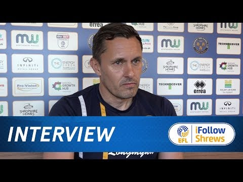 INTERVIEW | Paul Hurst pre Bury - Town TV