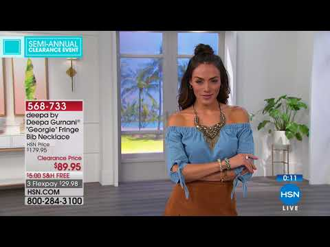 HSN | Jewelry Clearance 06.12.2018 - 05 PM