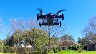 syma x9 flying car drone unboxing and review