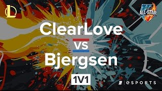 ClearLove vs Bjergsen (All-Stars Barcelona 2016)