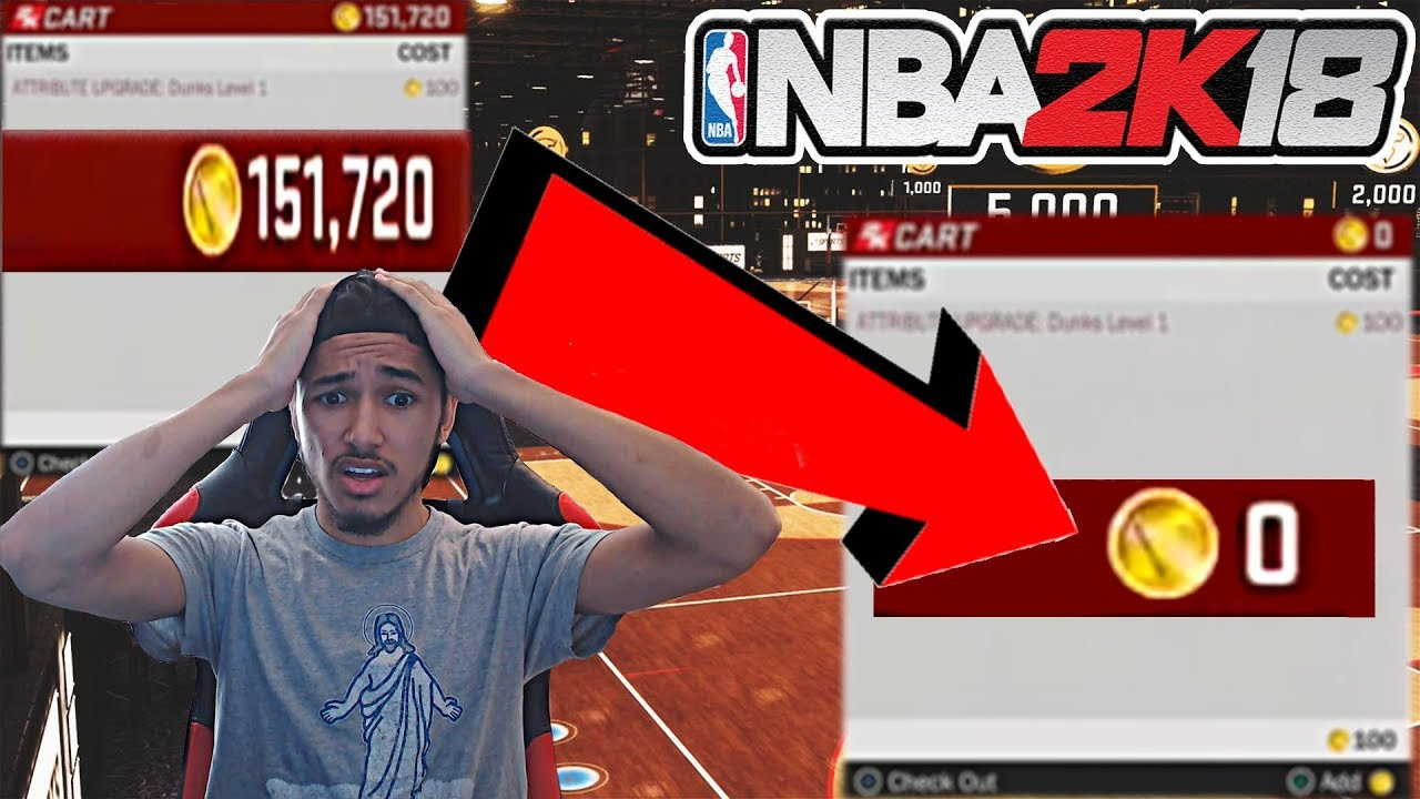 2K STOLE MY VC!! INSANE ANTE-UP GLITCH NEEDS TO BE FIXED NOW!!! @Ronnie2K @Beluba