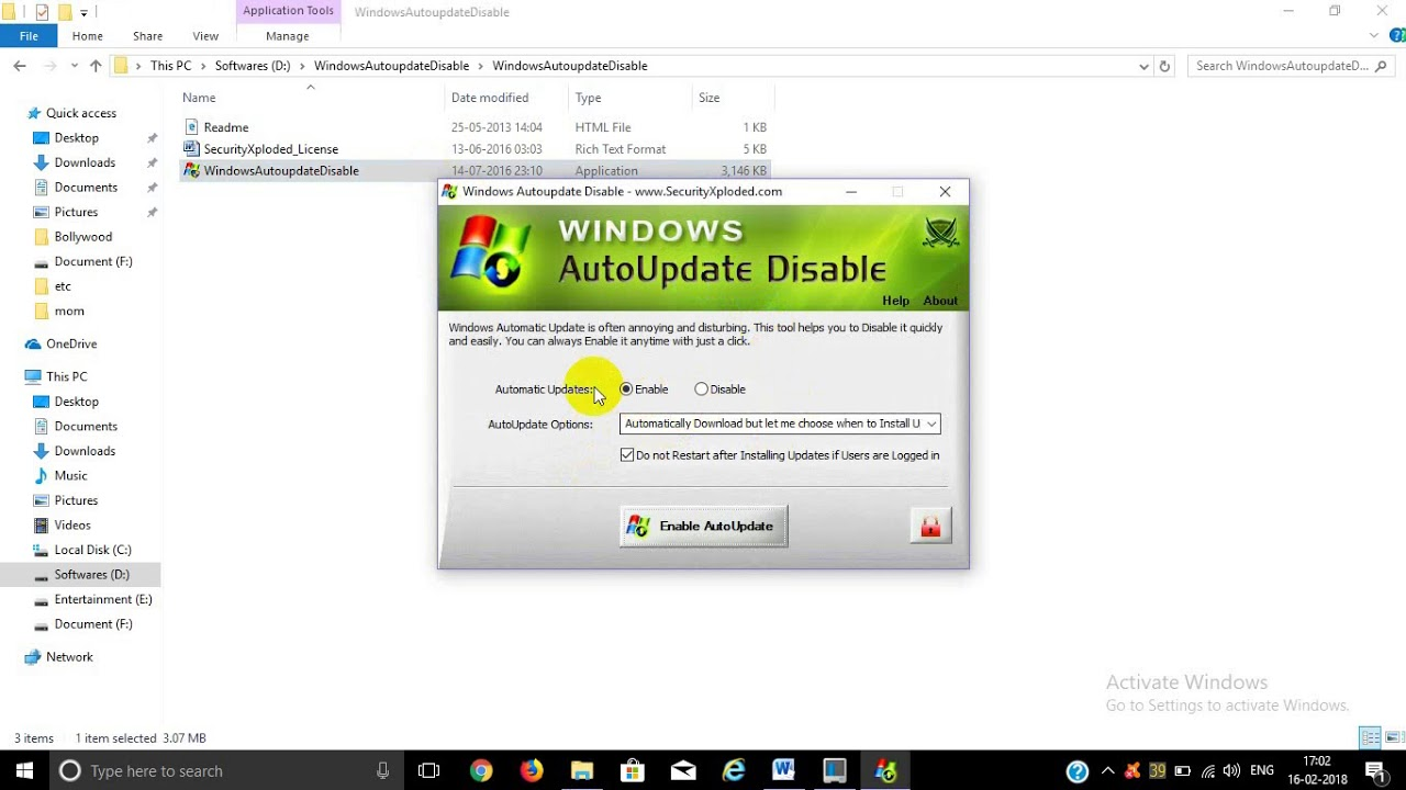 Store - Enable or Disable Automatic Download of Updates in ...