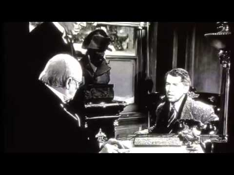 George Bailey Asks Mr Potter For Money Youtube
