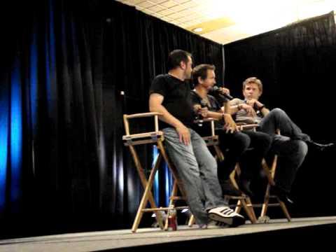 NJCon 2012  Mark Sheppard, Sebastian Roché & Mark Pellegrino