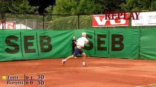 Tennis NM 2011 Frognerparken   Finalen i Herre singel HIGHLIGHTS!