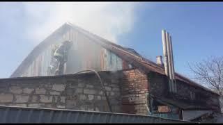 Бердянський район: рятувальники ліквідували пожежу на території приватного домоволодіння
