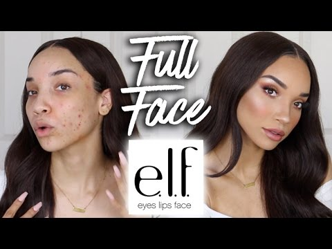 Full Face using only ELF Makeup (& Brushes!)