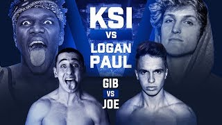 KSI VS LOGAN PAUL BOXING MATCH!!! (Fighting On The Undercard)