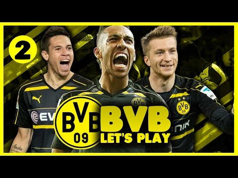 Borussia Dortmund Career Mode | Champions League Groups Drawn! | Football Manager 2017 Let's Play #2