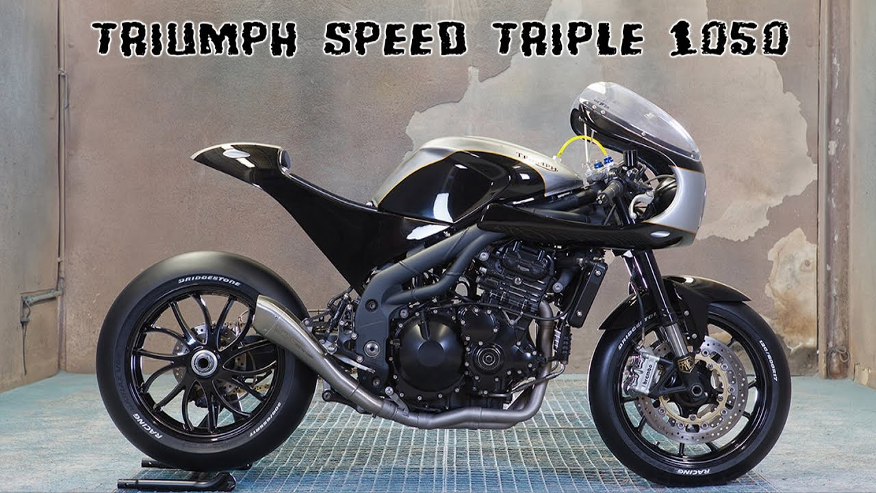 Triumph Speed Triple 1050 Cafe Racer Youtube