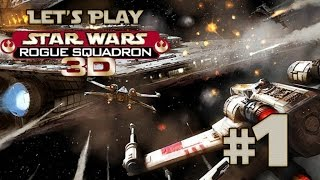 Let's Play Star Wars: Rogue Squadron 3D Ep. 1