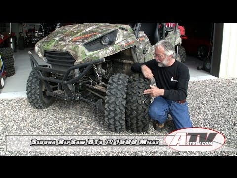 ATV Television - Sedona RipSaw RT ATV-UTV Tire at 1500 Miles