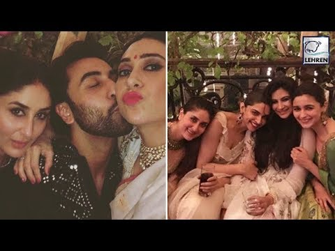 Kareena, Deepika, Alia & Ranbir Enjoying At Anil Kapoor's Diwali BASH | LehrenTV Mp3