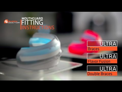 Shock Doctor | Ultra Braces And Ultra Double Braces Mouthguard Fitting Video