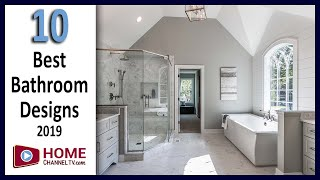 Top 10 Bathroom Designs / Master Suites from Our 2019 Home Tours - Interior Design Ideas