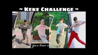 "KPOP IDOLS Doing the Keke Challenge ""In My Feelings Challenge"""