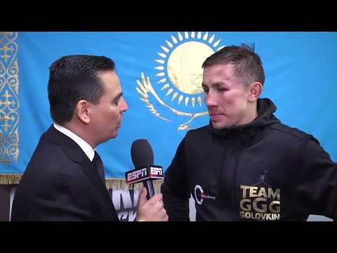 Gennady Golovkin post-fight interview after draw with Canelo