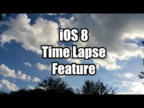 Check out iOS 8's Time-lapse camera mode in action (Video)