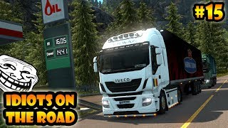 ★ IDIOTS on the road #15 - ETS2MP | Funny moments - Euro Truck Simulator 2 Multiplayer