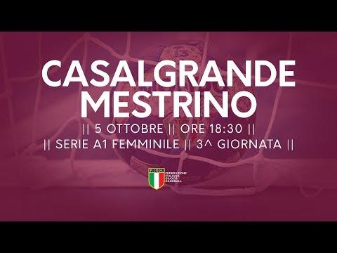 Serie A1F [3^]: Casalgrande - Mestrino 23-28