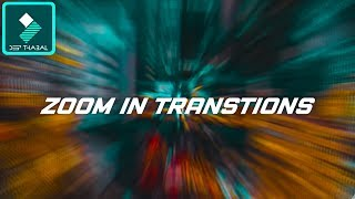 WONDERSHARE FILMORA | HOW TO | SMOOTH ZOOM IN TRANSITIONS EFFECTS | TUTORIAL [HINDI] DEEP THABAL !