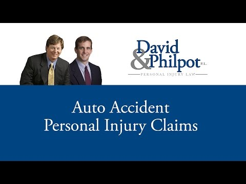 http://DavidLaw.com | 800.360.7015  If you or a loved one have been involved in an auto accident caused by another person you need to watch this video. Auto accident personal injury claims...