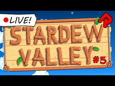 Let's play Stardew Valley (#5) | Live Indie Game Stream