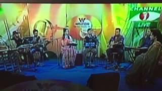 M.A.Shoeb singing, O shokhi megh kalo live
