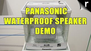 Hands-on Panasonic ALL05 Waterproof Speaker review