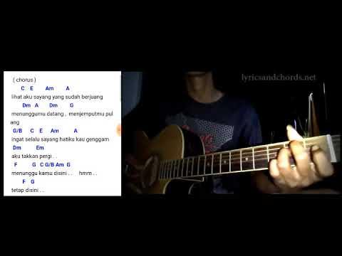 Menunggu Kamu Anji Lirik Chord Kunci Gitar - Anji Menunggu Kamu (Ost Jelita Sejuba)