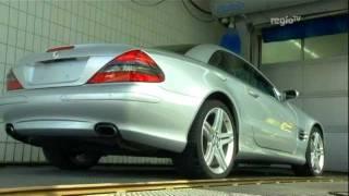 Mercedes-Dieb gefasst: Probefahrt dauert 4 Monate (Regio TV Schwaben)