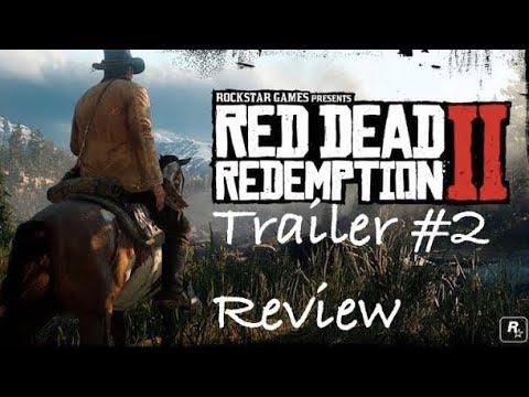 Red Dead Redemption 2 - Trailer 2 Analysis
