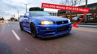 MY NEW R34 GTR GOT $20,000 IN NISMO MODS BUT ENDS IN FAILURE!