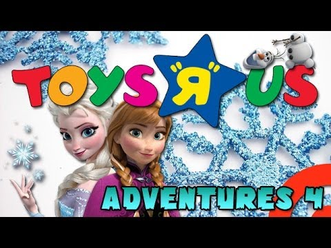 Toys R Us Adventures 4 Frozen Youtube