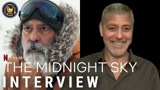 'the midnight sky' stars (and director) george clooney, felicity jones, david oyelowo, kyle chandler, tiffany boone and demián bichir discuss their new netfl...