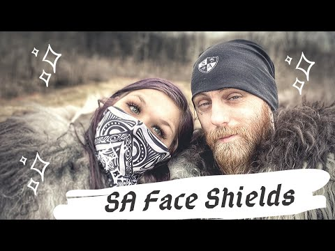SA Face Shields | SA Fishing | SA Company | Try On Haul & Review