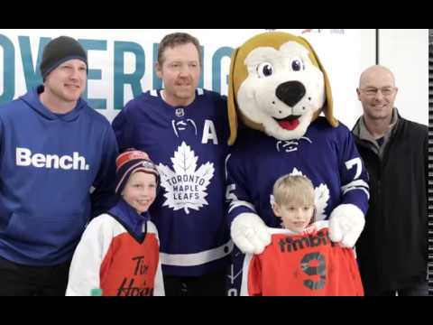 A Day with the Maple Leafs Alumni: London