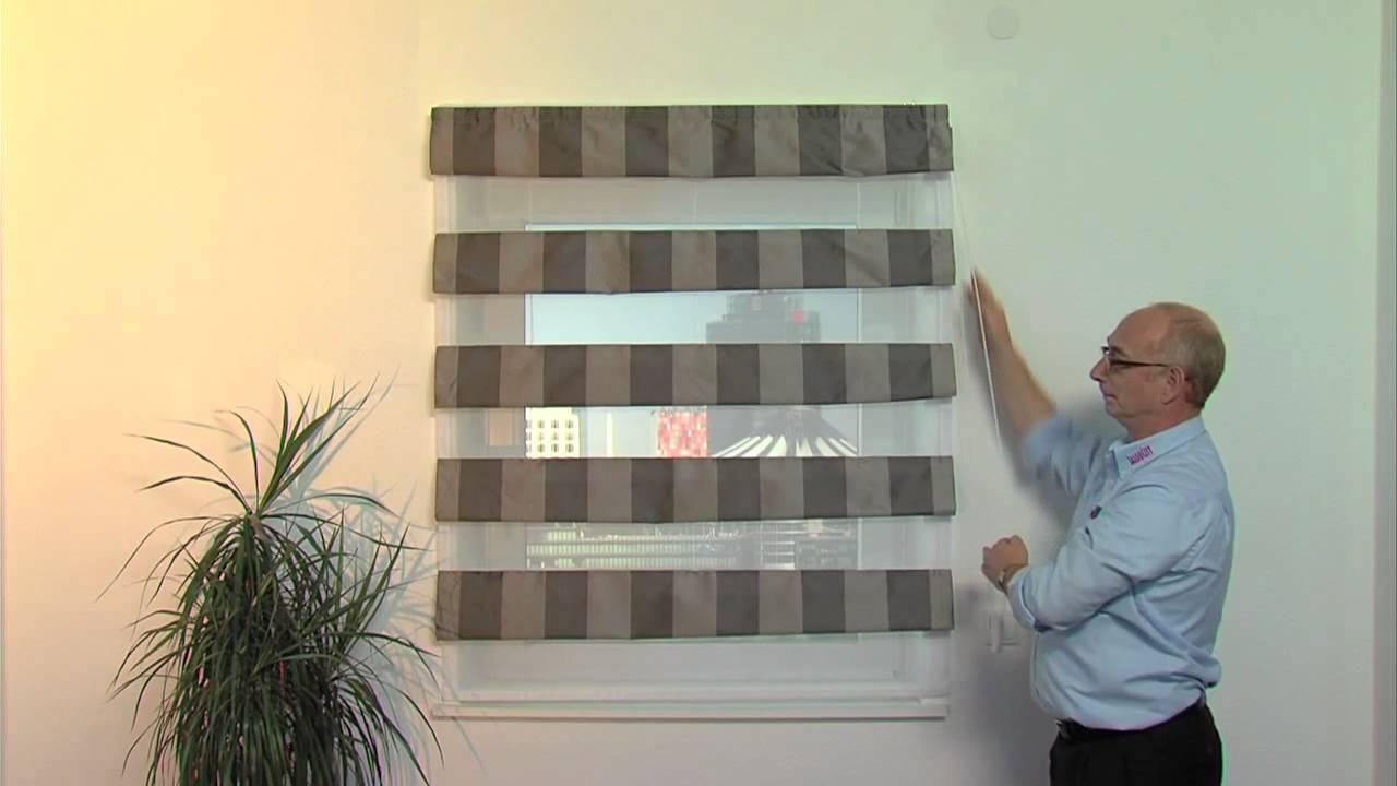 jaloucity weltneuheit suncontrol raffrollo youtube. Black Bedroom Furniture Sets. Home Design Ideas
