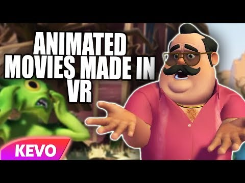 Animated Movies made in VR