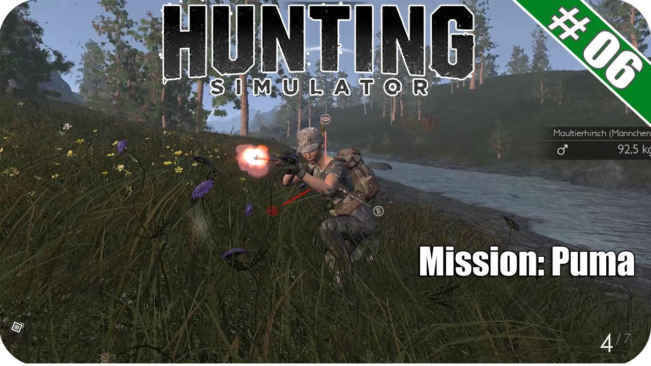 Jagd-Spiel f/ür den PC/ /Hunting Simulator