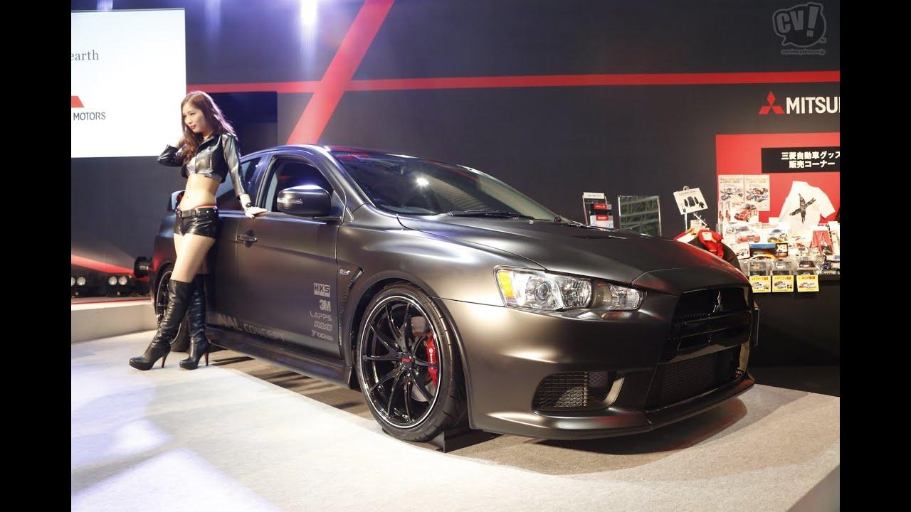 Mitsubishi Lancer Evolution X Final concept - Tokyo Auto Salon 2015 ...