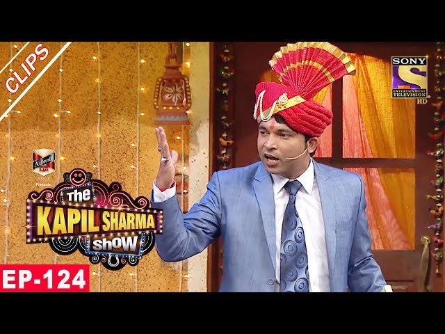 Chandu Gatecrashes Kapils Wedding - The Kapil Sharma Show - 30th July, 2017