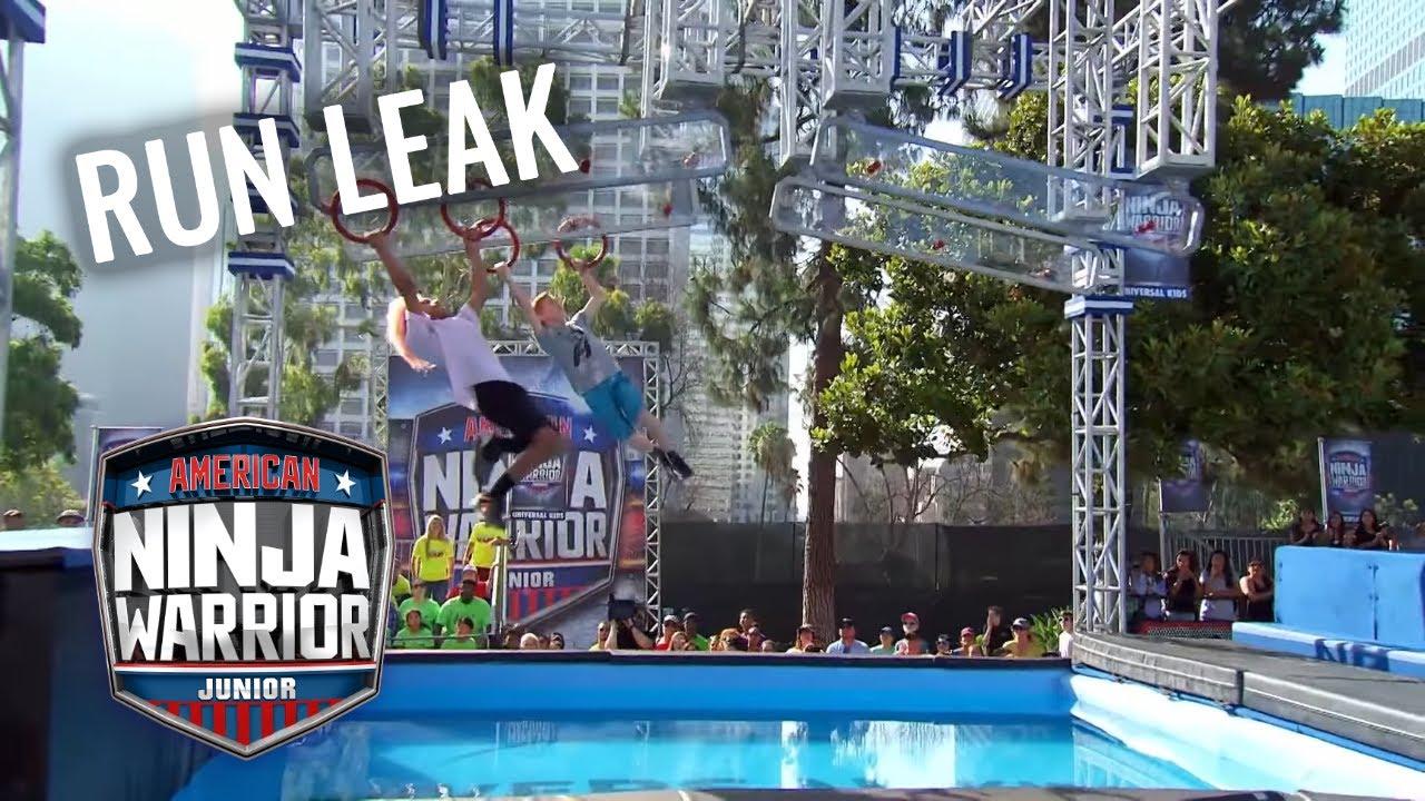 LEAKED RUN: Niko Stradtman vs  Hans Hertz | American Ninja Warrior