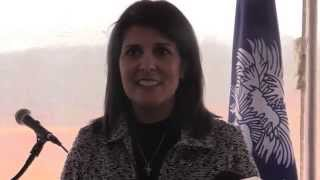 SC Gov. Haley on weather, state of emergency