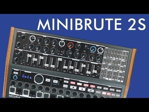 MiniBrute 2S Demo & Review!