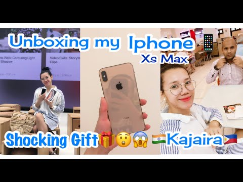 UNBOXING MY iPhone XS MAX 2018 BOUGHT FROM APPLE STORE AT THE MALL OF EMIRATES | Filipina In Dubai