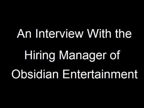 Getting a Job in Game Design - Interview With a Hiring Manager Part 2