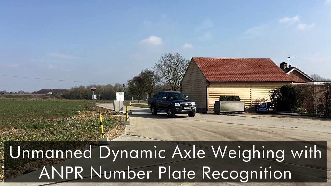 ANPR Automatic Number Plate Recognition Weighbridge Software