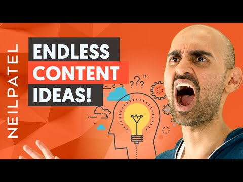 How to Find Endless Content Ideas – Ubersuggest