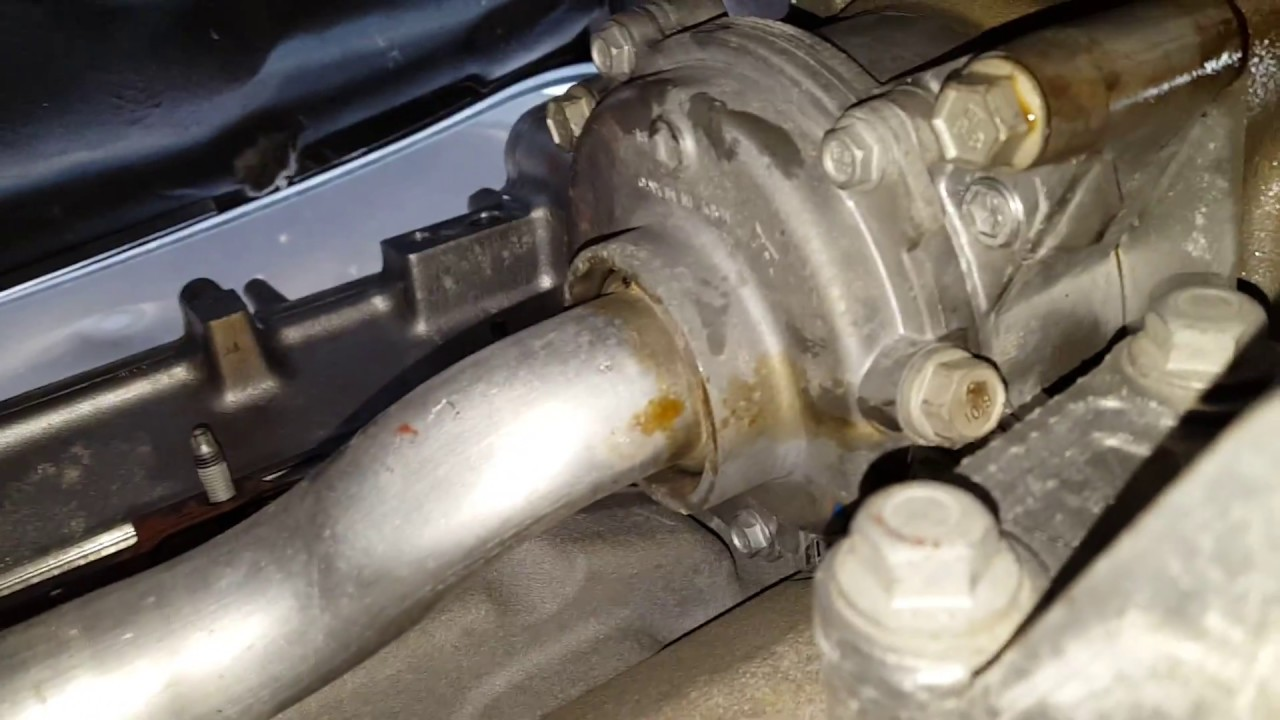 2 4 ecotec water pump removal tip